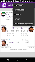 Screenshot of World Cup LIVE cricket Scores