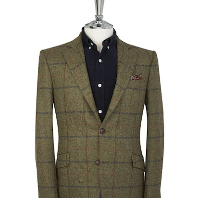 Derren Country Check Jacket