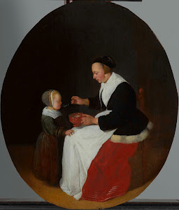 RIJKS: Quiringh Gerritsz. van Brekelenkam: painting 1668