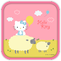 Hello Kitty Love Sheep Theme