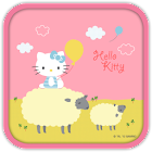 Hello Kitty Love Sheep Theme icon