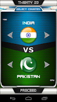 Screenshot of International Cricket Manager
