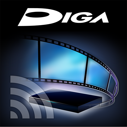 娱乐のDIGA remote LOGO-HotApp4Game