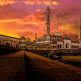 Bara Imambara Lucknow by Dinesh Verma - Buildings & Architecture Statues & Monuments ( imambara, monument, india, historical, lucknow, places of worship )