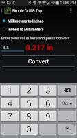 Screenshot of Simple Drill & Tap