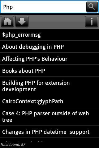 Dev Pocket Reference - PHP
