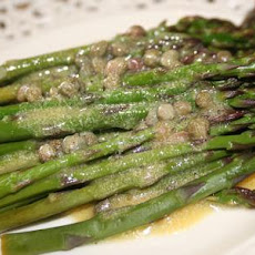 Asparagus With Lemon Caper Vinaigrette