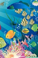 Screenshot of Beautiful Sea Aquarium Lwp
