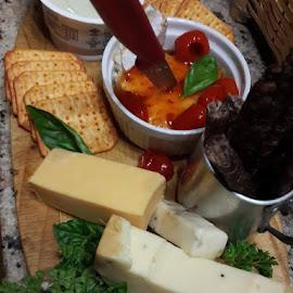 platter by Niekie Eksteen - Food & Drink Meats & Cheeses