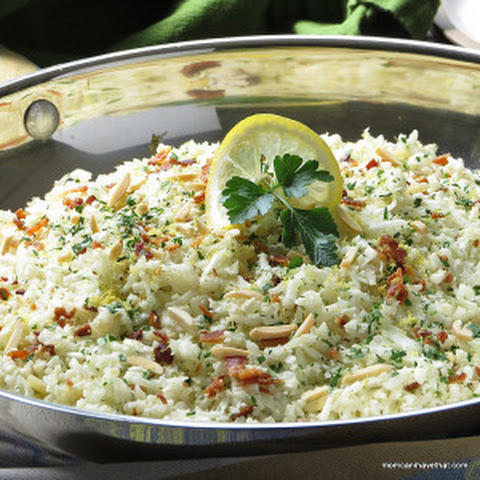 Riced Cauliflower Pilaf
