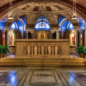 The Crypt Church by Dan Girard - Buildings & Architecture Places of Worship ( basilica of the immaculate conception, dan_girard_photography, church, district of columbia, 2014, cathedral, washington dc )