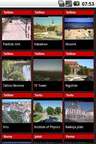 Estonian WebCams