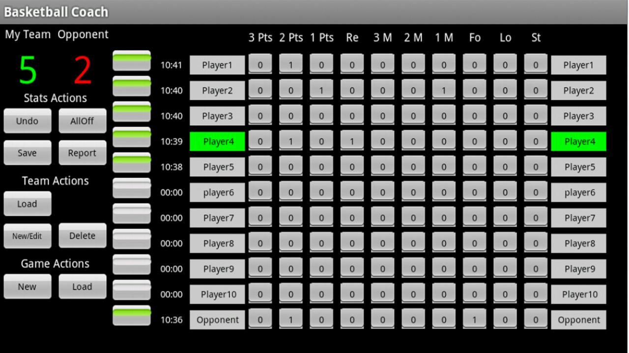 Basketball Coach Simulation Game