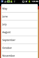 Screenshot of Indian Festivals Calendar 2014