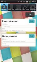 Screenshot of iDiary Meds