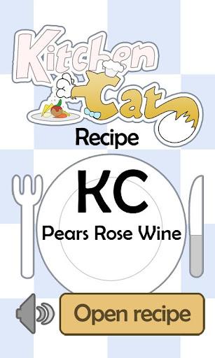 KC Pears Rose Wine