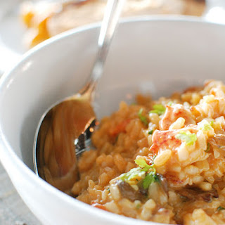 Lobster and Brown Rice Risotto