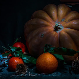 Autumn by Stefania Loriga - Food & Drink Fruits & Vegetables