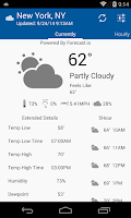 Screenshot of Lucid Weather Beta