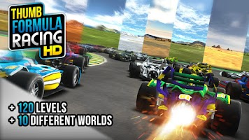 Screenshot of Thumb Formula Racing