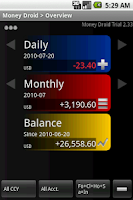 Screenshot of Money Droid