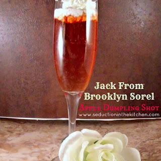 Jack From Brooklyn Sorel Apple Dumpling Shot