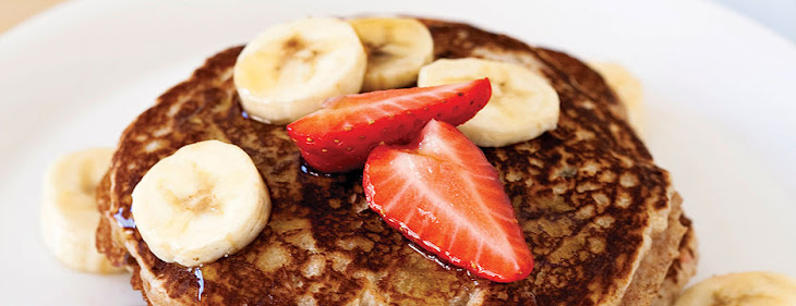 Nigel Barker's Banana Pancakes