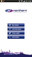 Screenshot of Northern Rail train tickets