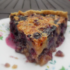 Berry Custard Pie