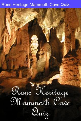 Rons Mammoth Cave Quiz