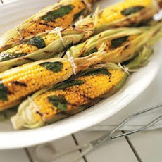 Basil Corn on the Cob