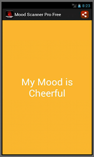 Mood Scanner Pro Free - screenshot