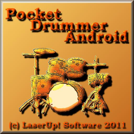 PocketDrummer Android 音樂 App LOGO-APP試玩