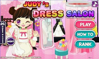 Screenshot of Judy's Dress Salon