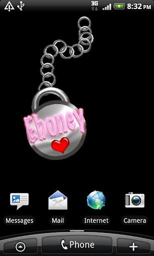 Eboney Name Tag