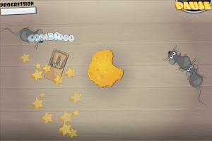 Screenshot of Math and Cheese FREE math game