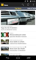 Screenshot of ADAC News
