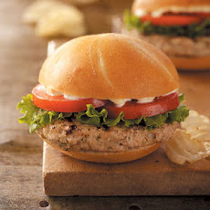 Dilly Turkey Burgers