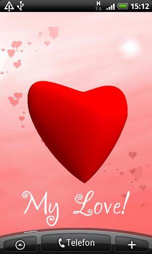 Sweet Valentine Live Wallpaper