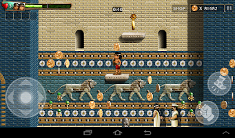 Screenshot of Babylonian Twins Platform Game
