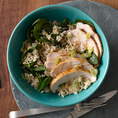 Brown Rice Bowl With Turkey