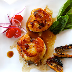 Asian Style Scallops
