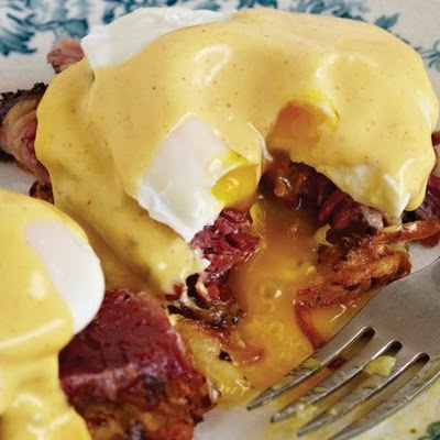 Pastrami Benedict from 'The Artisan Jewish Deli at Home'