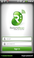 Screenshot of RemoteBean