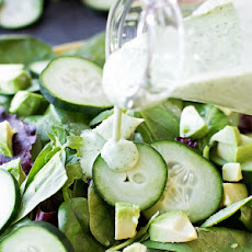 Healthy Greek Yogurt Green Goddess Dressing