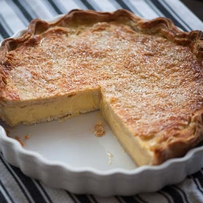 Double-Crusted Buttermilk Pie