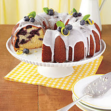 Lemon-Blueberry Bundt Cake