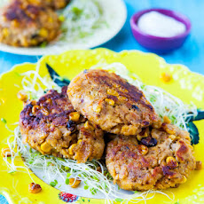 Corn Chip-Crusted Southwestern Salmon Cakes (gluten-free)