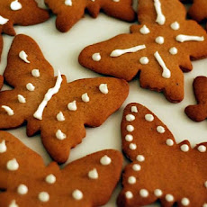 Mom's Pepparkakor (Gingerbread Cookies)