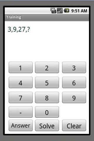 Maths Number Pattern IQ Free